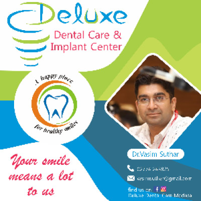 Reviews for dentist Deluxe dental care and implant center in Modasa, Gujarat, India