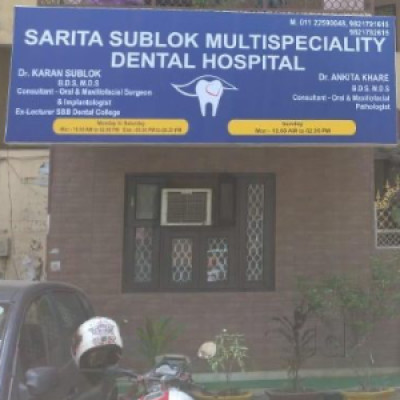 Reviews for dentist Sarita sublok Multispeciality dental hospital in New Delhi, Delhi, India