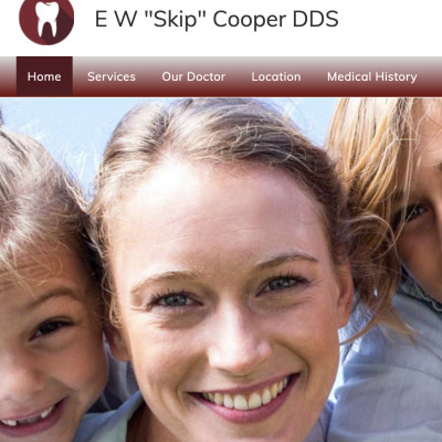 """Reviews for dentist Dr. E. W. """"Skip"""" Cooper DDS in Johnson City, Tennessee, United States"""