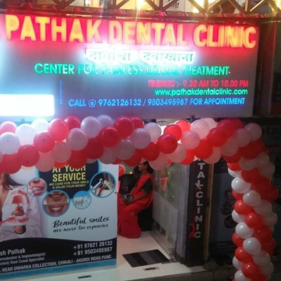 Reviews for dentist Manish Pathak in Pimpri-Chinchwad, Maharashtra, India